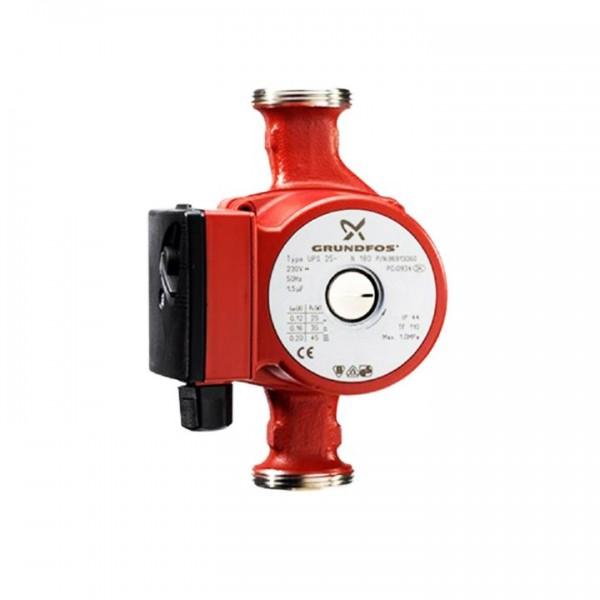 Grundfos UPS 25-60 N Trinkwasser Zirkulationspumpe 180 mm 96913085