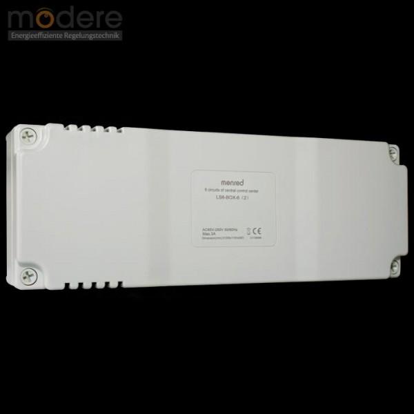 Menred 6 Kanal Regelklemmleiste LS6-BOX-6(2) 230 V / 50 Hz