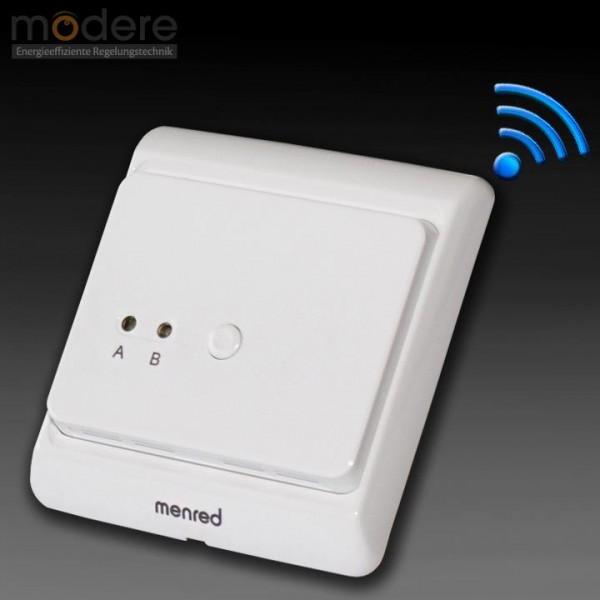 Menred E8.423RF Ein-Kanal-Funkempfänger 3 A 433 MHz / 230 V Unterputz