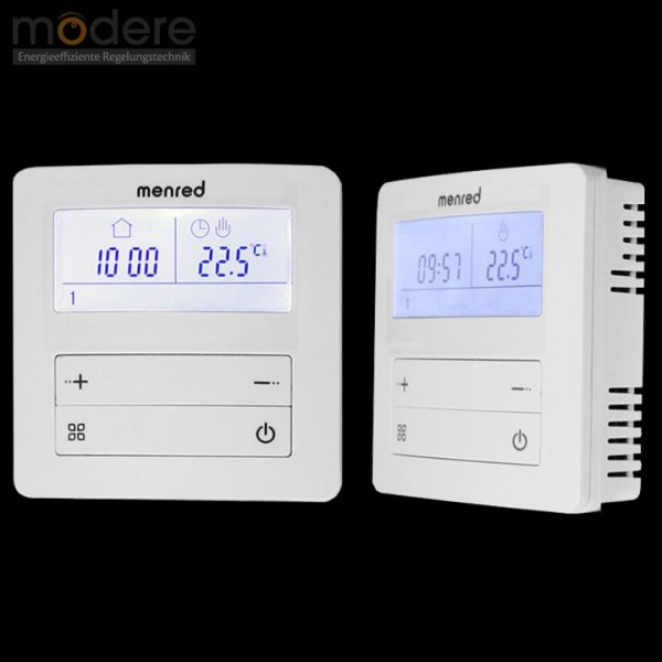menred APT-20 digitaler Raumthermostat Aufputz 230 V mit LCD-Display