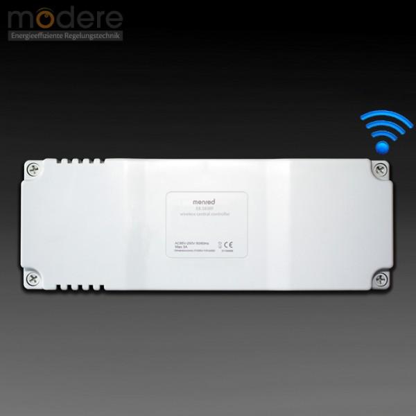 Menred E8.583RF Mehrkanal-Funkempfänger 230 V mit 8 Kanälen 433 MHz